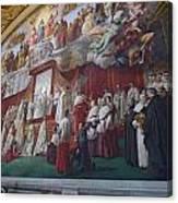Vatican Fesco 1 Canvas Print