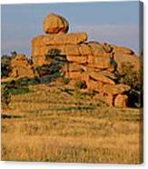 Vedauwoo Rocks Sunset Wyoming Canvas Print