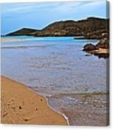 Vega Baja Beach 2 Canvas Print