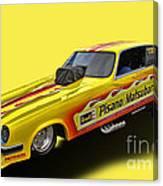 Vega Funny Car Canvas Print