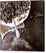 Vegan Quinoa Salad Canvas Print