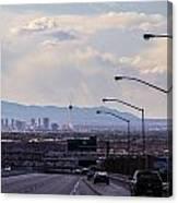 Vegas Cityscape Canvas Print