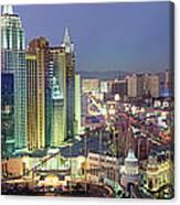 Vegas Skyline Canvas Print