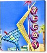 Vegas Street Art Canvas Print