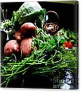 Vegetables. Still Life Canvas Print