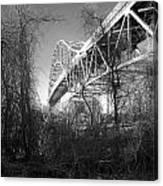 Vegetation Bridge Canvas Print