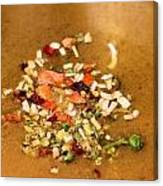 Veggie Flakes Canvas Print