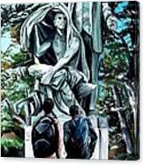 Veil Lifted Canvas Print