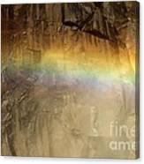 Veiled By A Rainbow Canvas Print
