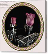Veiled Love Canvas Print
