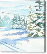 Veiw From Mt. Werner Canvas Print