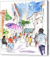 Velez Rubio Market 01 Canvas Print