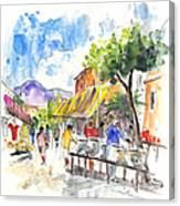 Velez Rubio Market 02 Canvas Print