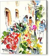 Velez Rubio Market 03 Canvas Print