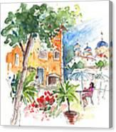 Velez Rubio Townscape 03 Canvas Print