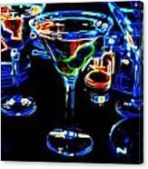 Velvet Cheers Canvas Print