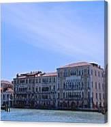 Venecian Broadway Canvas Print