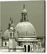 Venetian Basilica Salute Canvas Print