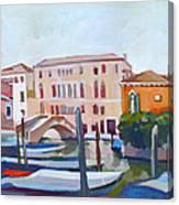 Venetian Cityscape Canvas Print