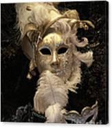 Venetian Face Mask B Canvas Print