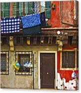 Venetian House Canvas Print