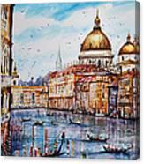 Venetian Paradise Canvas Print