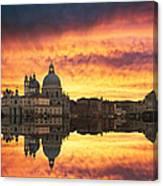 Venetian Reflections Canvas Print