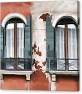 Venetian Window Canvas Print
