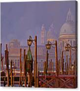 Venezia E La Nebbia Canvas Print