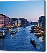 Venezia - Il Gran Canale Canvas Print