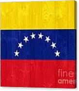 Venezuela Flag Canvas Print