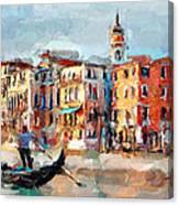 Venice 14 Canvas Print