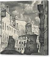 Venice. A View From The Other Bridge Canvas Print