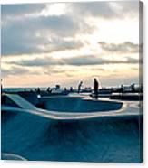 Venice Beach Skate Park Canvas Print