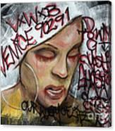 Venice Beach Wall Art 1 Canvas Print