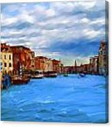 Venice Blue Canvas Print