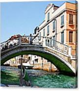 Venice Bridge Canvas Print
