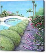 Venice California Canals Canvas Print