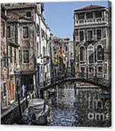 Venice Canal 5 Canvas Print
