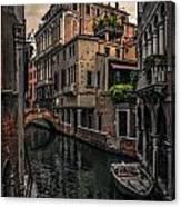 Venice Canal 8 Canvas Print