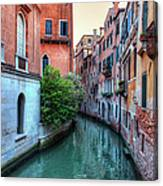 Venice Canals Canvas Print