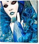 Venice Carnival Mask 2 Canvas Print