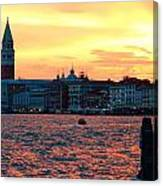 Venice Colors Canvas Print