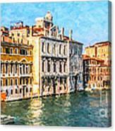 Venice - Grand Canal Canvas Print