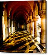 Venice Hallway In The Morning Canvas Print