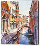 Venice In Spring Canvas Print
