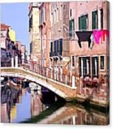 Venice Living Canvas Print