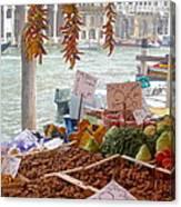 Venice Market Canvas Print
