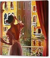 Venice Morning. Canvas Print