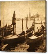 Venice Postcard Canvas Print
